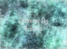 Shattered Sky Brushes vol 2 by Zellow