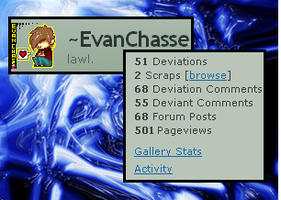 EvanChasse: Over 500 Views by EvanChasse