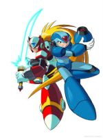 THIS IS OLD Megaman X and Zero by UberSonicFan3