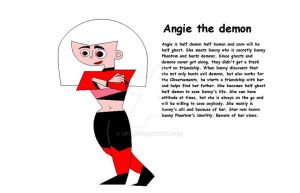 Angie the Half Demon by ufd