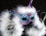 Custom Purple Unicorn Mask by merimask