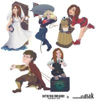 Doctor-who-sticker-set-companion by nak