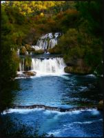 Krka Falls by cronicalhedonist