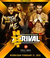 NXT Takeover : Rival Custom Poster by Mohamed-Fahmy