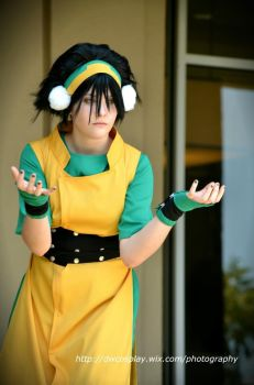 Toph by AnbuBebop