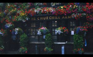 Churchill Arms by AzureFantoccini