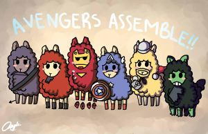 ALPACAS ASSEMBLE by AsianPanties