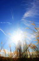 HDR - The Sun Ray and the big blue sky by 071191