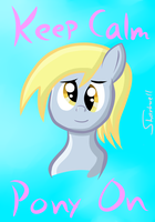 Derpy's Message by Sharkwellington