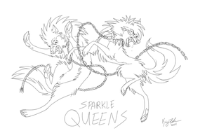 Swift and Blood  - Sparkle Queens by KayFedewa