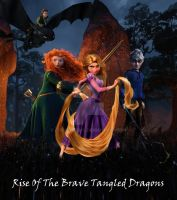 Rise of The Brave Tangled Dragons by coolcatemy