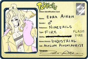 PokeCity Application: Ezra by DoctorCritical