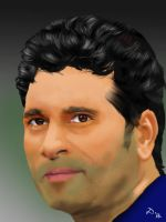 Sachin Tendulkar by 4everanimaniac