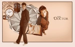 The Tenth Doctor by sorryeyescansee