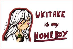 Ukitake is my homeboy by carriemiddleton