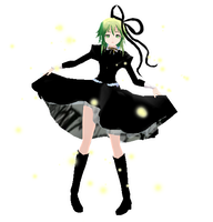 MMD Music Box of time Gumi by HeyItzRin