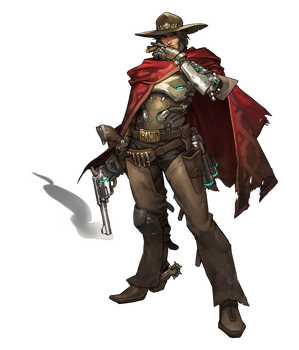 Mccree - Overwatch by PlanK-69