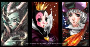 Disney Villain paintBBS log by Disney-Funker