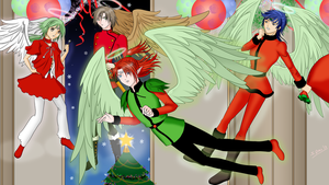 Merry Angelic Christmas by StarlightMemories