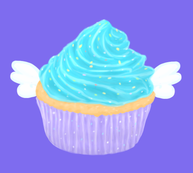 Angel Cake by SketchyBlurry
