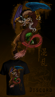 Discord - shirt design by CosmicUnicorn