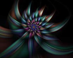 Spiral Flower 10 by johnnybg