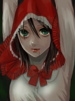 little red riding hood by kjng