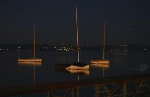 Sleeping sailboats by trollwaffle