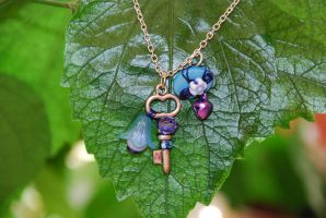 Fairy trinket in blue by Libellulina
