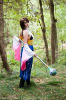 Yuna Summoner  Final Fantasy X by Shizuku-Seijaku