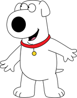 Brian Griffin Exciting by Mighty355