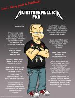 Metal 101- The Mainstreamallica Fan by LusoSkav