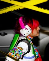 Candy Raver Caution Tape by photoboy1002001