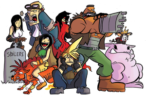 FF7: Gang's All Here by MJRainwater