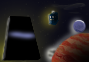 2001: A Space Odyssey Doctor Who Crossover by TateShaw