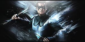 Nightwing Smudge by Enabels