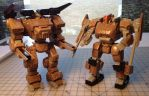 3D printed mecha by Mecha-Zone