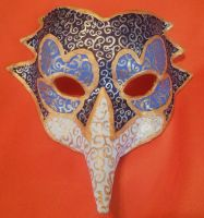 venetion mask by viveie