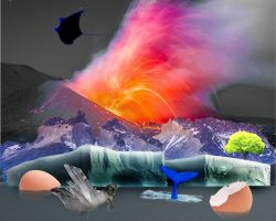 Photoshop Assignment - Surreal Collage by Watercolours14