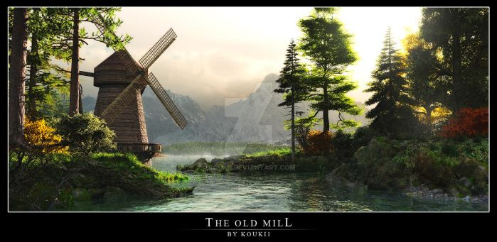 The old mill by kouki1