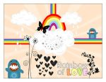 rainbow of love by Amanious