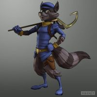 sly cooper artwork by FCC93