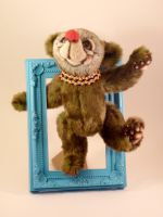 Bungle the Circus Bear by mellisea