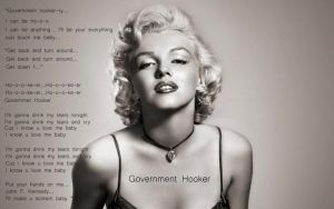 Lady Gaga-Government Hooker by LoveGagaRedAndBlue