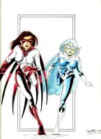 Hawk and Dove by NJValente