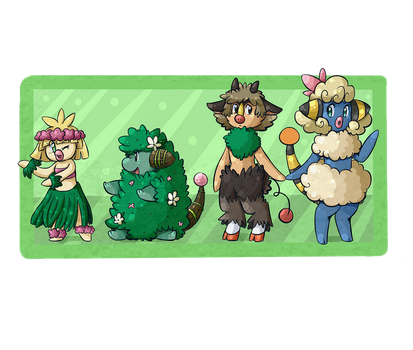 PKMNation: Fauns and Fusions Clutch(CLOSED) by PoroPants