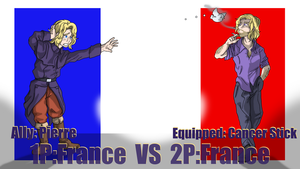 Hetalia Fight: France vs France by Sagealina