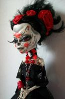 Monster High Custom Day of the Dead Sophia 2 by AdeCiroDesigns