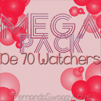MEGA PACK 70 WATCHERS by FernandaSwaggyLove
