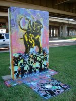 Deep Ellum Art Park piece by skeptic1